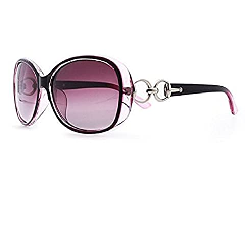M2-Viola-Sonnenbrille-Frauen-Big Retro Vintage polarisierte UV400