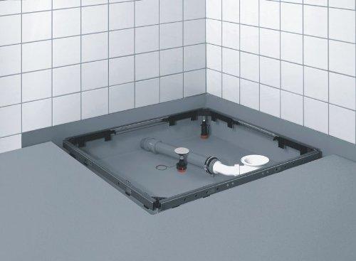 80-120 Duschwannenfuß Brausewannenfuß Duschfüße Wannenkreuz Rahmen Montagerahmen Rechteck für Duschtasse