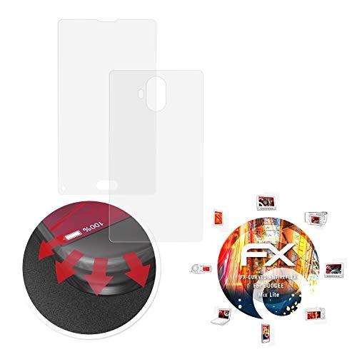 atFolix Schutzfolie passend für DOOGEE Mix Lite Folie, entspiegelnde & Flexible FX Bildschirmschutzfolie (3er Set)