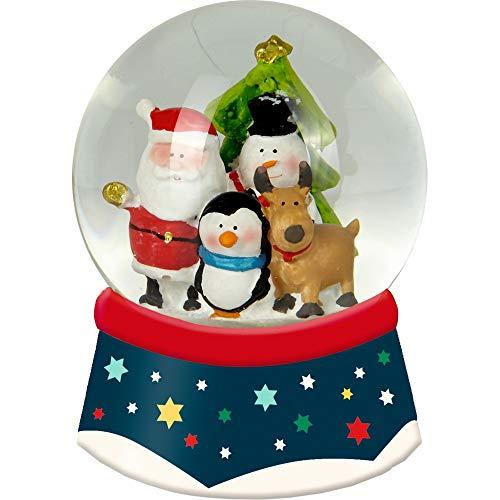 Die Spiegelburg 15062 Schneekugel mit Licht Fröhliche Weihnachten -