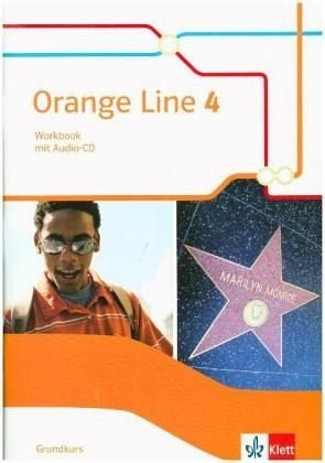 Orange Line / Workbook mit Audio-CD Klasse 8: Ausgabe 2014. Grundkurs