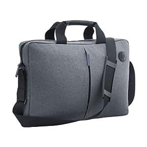 "41jBmrlzrNL. SS300  - HP Essential Top Load - Funda bandolera para portátil de hasta 15.6"", color gris"