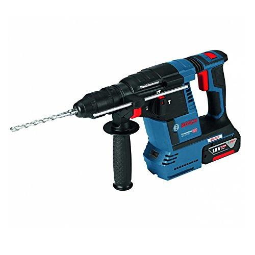 Preisvergleich Produktbild Bosch Professional 0611910007 GBH 18V-26 F Professional F Bohrhammer, 2 x 5,0 Ah Akku, Schnellladegerät, L-BOXX (18 V, Schlagenergie, max. 2,6 J, SDS-plus), 18 V, Schwarz, Blau