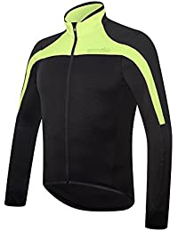 RH + spacethermo Jrs bl-fluoyel M, camisetas (Ciclismo), Black–para hombre Yellow Fluo, M