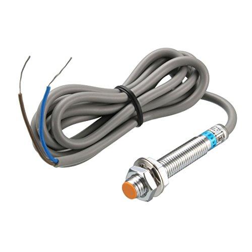 sourcing map 10mm Induktive Näherung Sensor Schalter NO AC/DC 0-250V 400mA LG8A3-10-J/EZ DE de Induktive Spannung Detektor