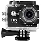 Y8-P Action Kamera sport Kamera 2.0 Zoll WiFi 1080P Action Camera Full HD 30M Wasserdicht Actioncam Kamera H264 12Mp Video Action DV sport Camera schwarz