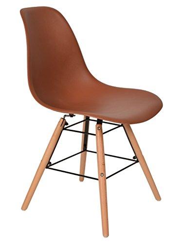 ts-ideen-48115-Chaise-de-table-Design-Classique-Annes-50-Rtro-Bois-Marron