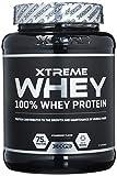 Xcore Xtreme 100% Whey Protein SS Pulver 900g - Fördert das Wachstum und Erhalt der Muskelmasse - Ohne Zucker und Aspartam - Bester Erdbeer-Geschmack - 60 Portionen