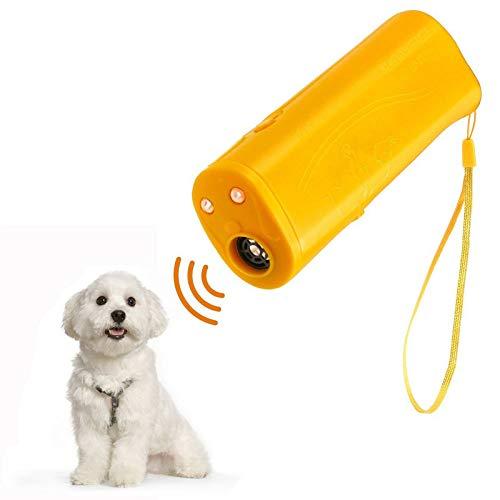 GCSEY Il Cane Ultrasonico LED Repeller Trainer Pet Dog Rumbling Attrezzature Torcia Flashlight con 3 modalità per La Formazione Drive Dog Flash Light