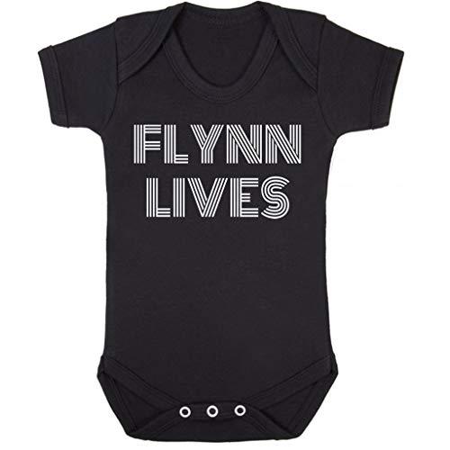 Cloud City 7 Flynn Lives Tron Legacy Baby Grow Short Sleeve
