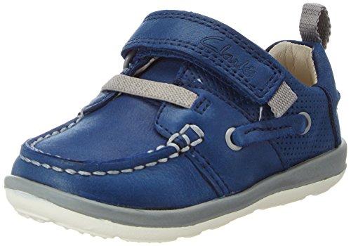 Clarks Softlyboat FST, Chaussures Marche Bébé Garçon