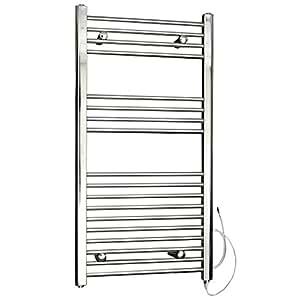 Hudson reed radiatore termosifone scaldasalviette elettrico termostatico acciaio cromato - Scaldasalviette per cucina ...
