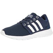 low priced 8ead1 337db Adidas Mujeres Cloudfoam QT Racer Bajos   Medios Cordon Zapatos para  Caminar, Talla