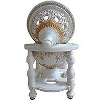 White Modern Decorative Incense Burner Holder Resin Censer