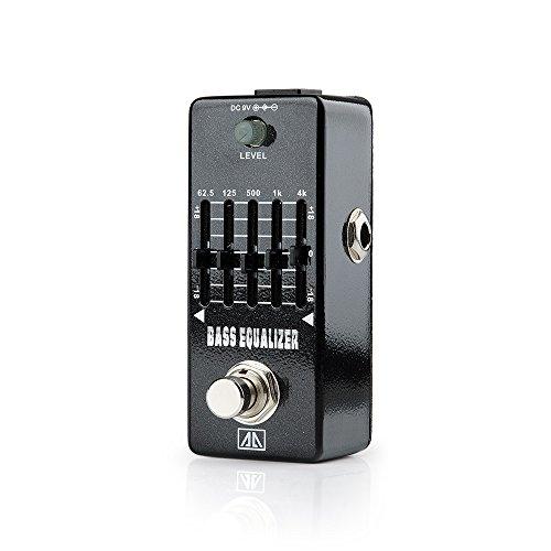 AA AEB-5 Bass Equalizer Mini Gitarren-Effekte Effektpedal Schallpegel Regelung für Gitarre Bass - Lightwish Mxr Phase Shifter