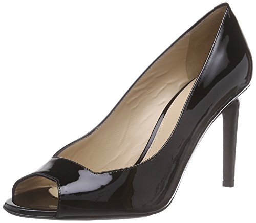 HUGO Ramoon-P 10187686 01, Damen Peep-Toe Pumps, Schwarz (Black 001), 40 EU (7 Damen UK)