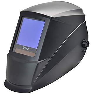 Antra AH7-860-0000 Solar Power Auto Darkening Welding Helmet AntFi X60-8 Jumbo Viewing Size 3.78