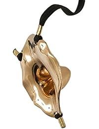 Sylvie Monthule gold, 2XL Schmuckstring ST44 echt vergoldet