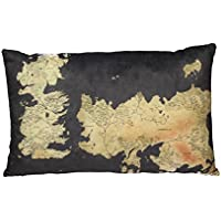 Game Of Thrones–Mapa–Cojín Westeros–Logo–55x 35x 8cm