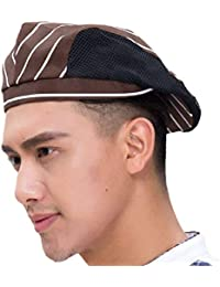 Unisex Summer Beret Moda Malla Secado Transpirable Rápido Impresión Fashion  Señoras para Hombre Sombrero De Cocina c868be75d20