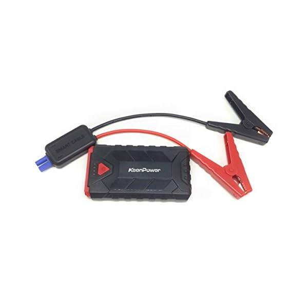 Portátil 500A Emergency Starting Device 8600mAh Baterías Cargador Car Jump Starter Booster Banco de potencia para 12V…