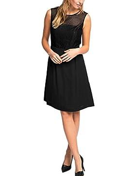 ESPRIT Collection Damen Kleid 125eo1e012 - mit Modischer Paisley-musterung