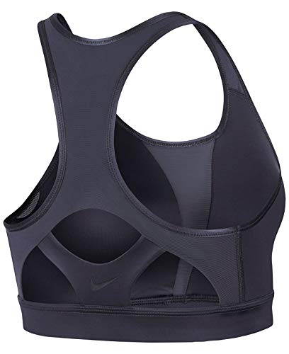 Nike Swoosh MODERN Damen Sport-BH, Mehrfarbig (IDIRON/Black/Black) - 2