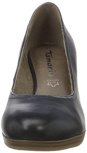 Tamaris 22410, Scarpe con Tacco Donna Blu (NAVY 805)