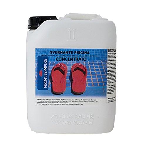 Svernante CONCENTRATO per acqua piscina 5 kg prodotto certificato