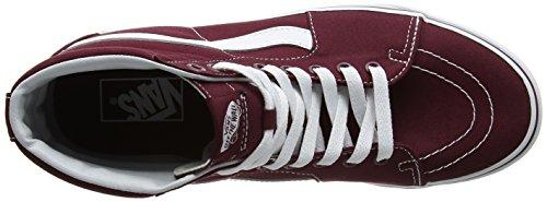 Vans Herren Ua Sk8-Hi Hohe Sneakers Rot (Canvas)
