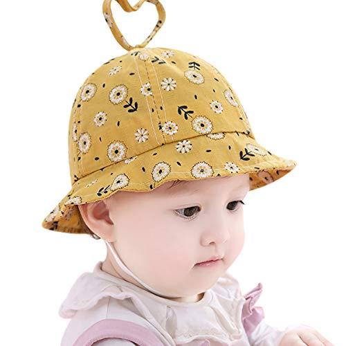 Wengsi Neugeborenes Baby Liebe Form Hut Strand Eimer Hut Baby Sun Sommer Mütze