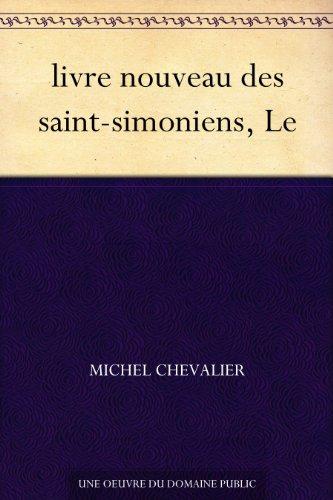 Couverture du livre livre nouveau des saint-simoniens, Le