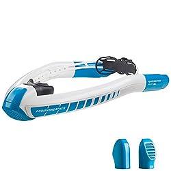 POWERBREATHER Lap Schwimmschnorchel - 100% frische Luft und 100% trocken - Kraulschwimmen auf die einfache Art - Kraulen Lernen - by AMEO Sports