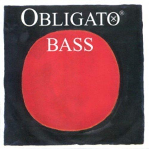 CUERDA CONTRABAJO - Pirastro (Obligato 441420) (Entorchado Sintetico) 4ª Medium Bass 3/4 E (Mi)