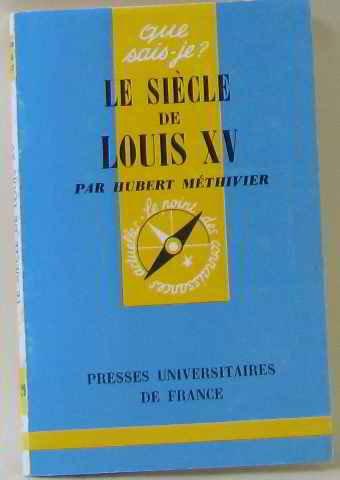 Le Sicle De Louis Xv