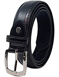 Ossi cuir nourris 28mm d enfants ceintures (taille 4XS - petit) en noir 3cea9cdc790