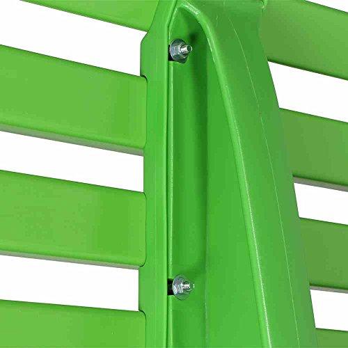 BLOME-TIL. Ibiza Bank, Kunststoff, apfelgrün, 54 x 120 x 74 cm, 50927 - 5