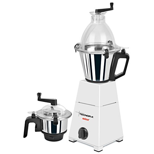 Tecnora Avatar 750fp Mixer/blender/grinder With 2 Jars
