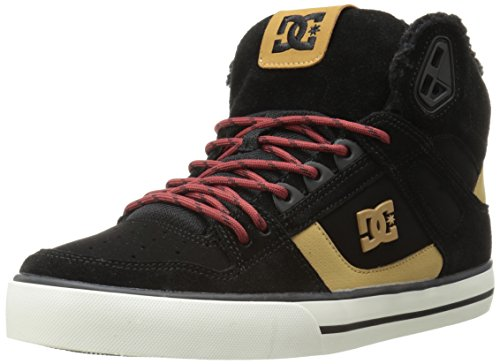 DC SPARTAN HIGH WC Unisex-Erwachsene Hohe Sneakers Black/Tan