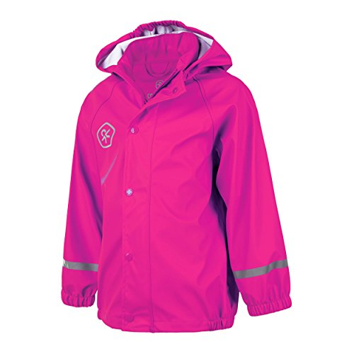 Color Kids Regenjacke Tatum PU Bright Rose, Gr. 110 (Julia Child Rose)