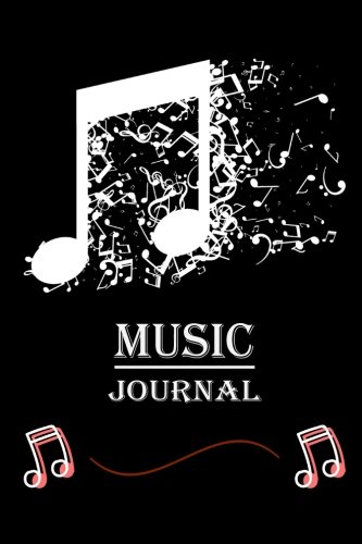 """Music Journal: Manuscript Paper For Notes, Lyrics And Music. Lyric Diary and Manuscript Paper for Songwriters and Musicians.For Inspiration And ... 6x9"""" (Music Journals and Notebooks, Band 6)"""