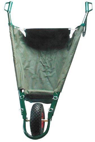 Berger & Schröter 30405 Schubkarre faltbar 85 Liter bis 80 kg, Material Wanne: 100% Polypropylen