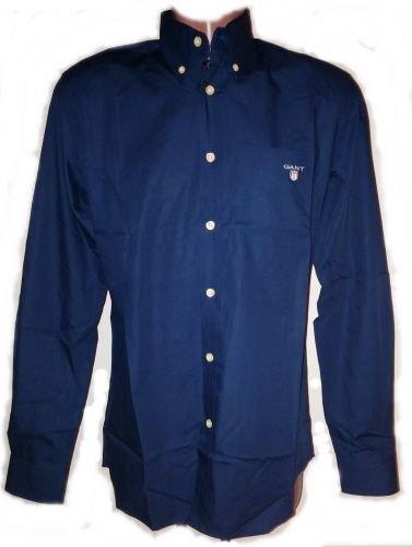 Gant-Camicia Uomo Original S M L XL XXL Navy/Blue S