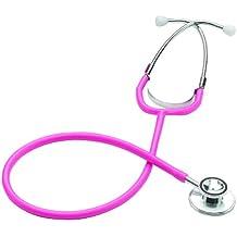 Merlin Medical Professional - Estetoscopio doble, color rosa