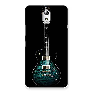 Neo World Premium Greenish Blue Guitar Back Case Cover for Lenovo Vibe P1M