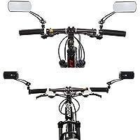 Saflyse 1 Paar MTB Fahrrad Rückspiegel Fahrradspiegel 360°Drehung