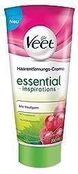 Veet Essential Inspirations Haarentfernungscreme für Alle Hauttypen, 1er Pack (1 x 200 ml)