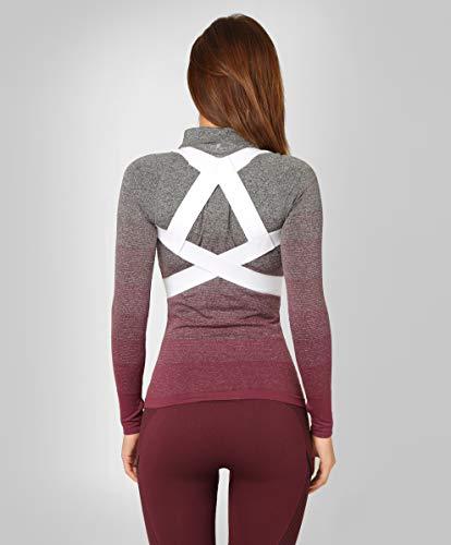®BeFit24 Rücken-Geradehalter zur Haltungskorrektur für Damen und Herren mit schmalen Schultern | Rückenstütze | Schultergurt als Rückenstabilisator | Rückengurt | Made in EU - [ Size 5 - Weiß ]