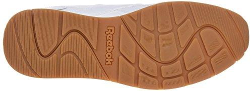 Reebok Bd1403, Scarpe da Trail Running Uomo Bianco (White/steel/gum)