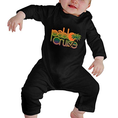 Junioren Long Sleeve Thermal (Bodys für Baby Lange Ärmel Cute Baby's Romper Long Sleeve Pablo Cruise Unique Design Newborn Sleepsuit Gift)